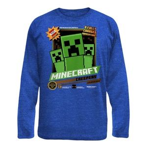 💚SALE💚 Minecraft Long Sleeve Tee Shirt Top